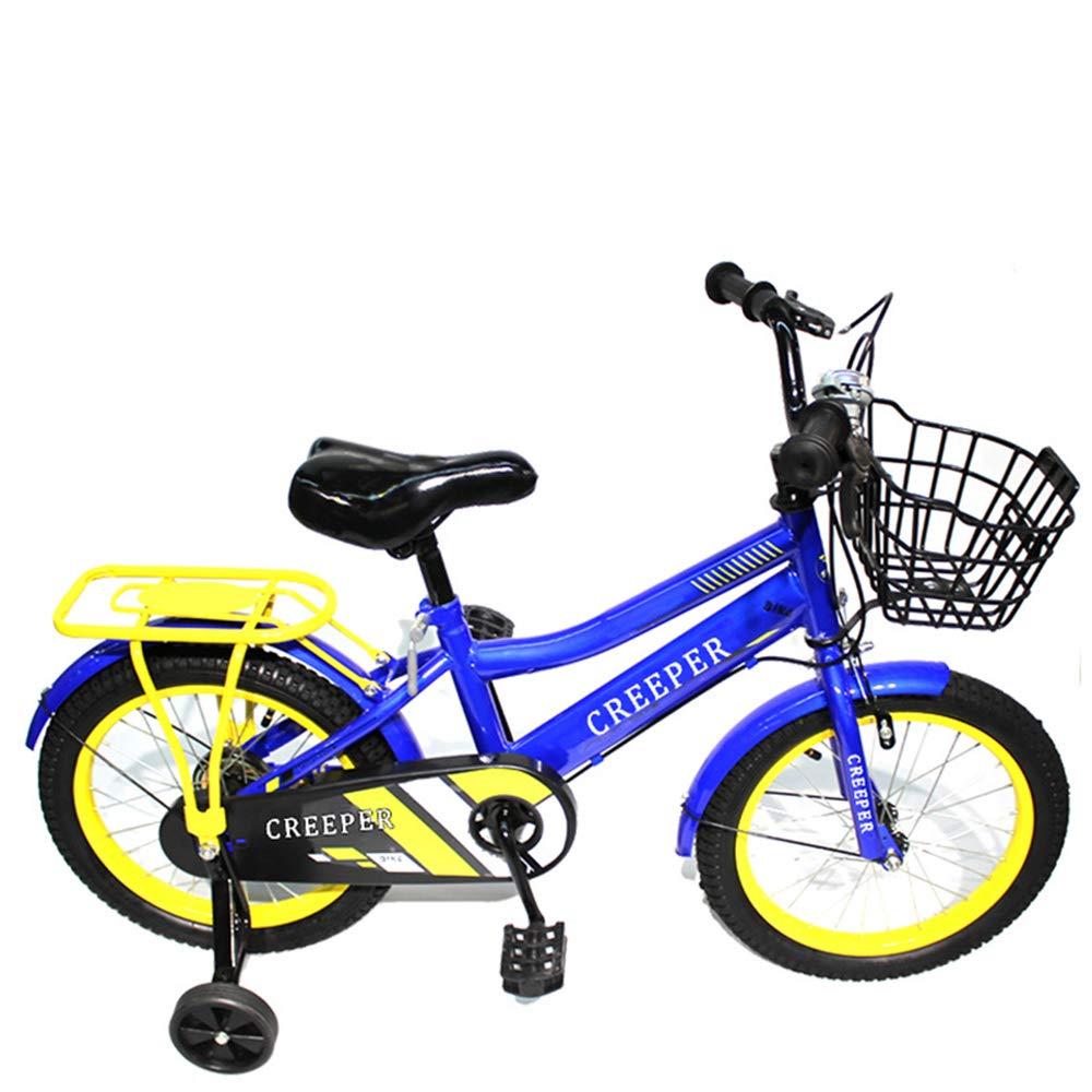 CARWORD Kinderfahrrad Fahrräder für Männer und Frauen Kinderwagen 14 Zoll 2-11 Jahre alt mit Flash Training Wheel Geschenke