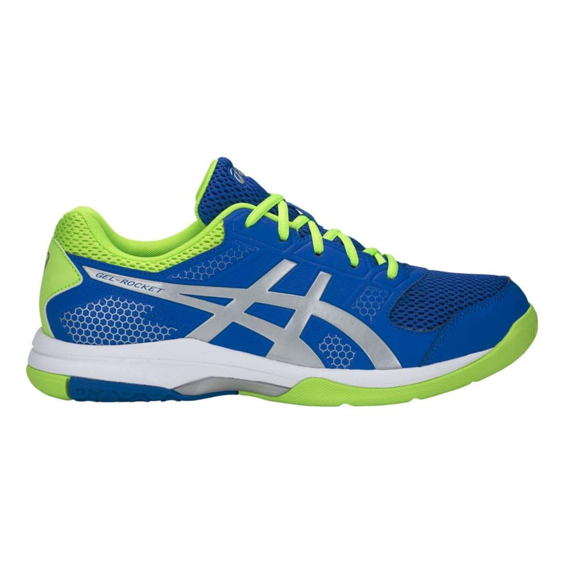 ASICS Men's Gel-Rocket 8, Blue/Silver, 7 D by ASICS (Image #1)