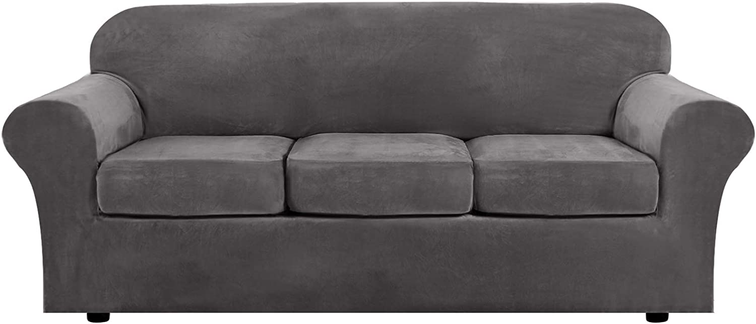 61NWyHsdSIL. AC SL1500 - Best Slipcovers For Leather Sofas and Couches (Non-Slip) - ChairPicks
