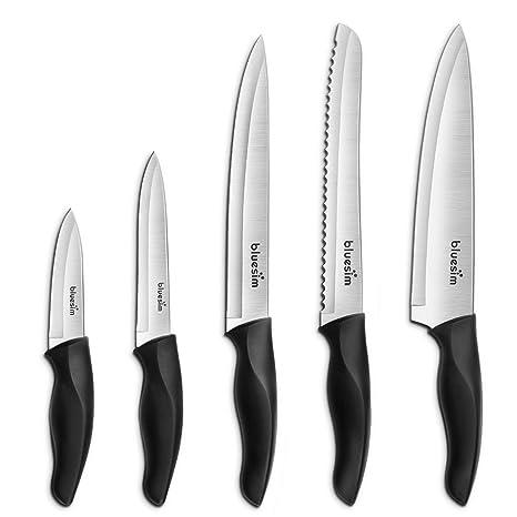 Amazon.com: Juego de cuchillos, juego de cuchillos de cocina ...