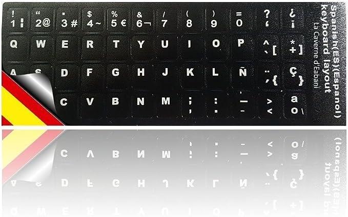Pegatinas teclado Spañol - Cualidad Superior