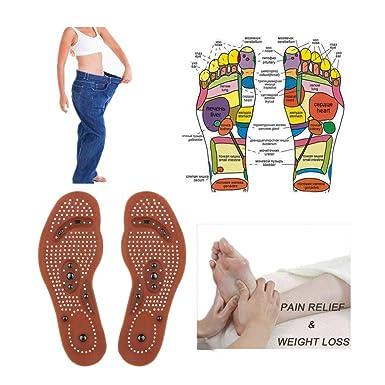 Amazon.com: Plantilla magnética para pies con cuerpo delgado ...