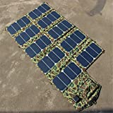 Four 64W Folding Solar Charger, Notebook Mobile Phone, Mobile Charging Treasure high-Efficiency Solar Energy, Charging high Power
