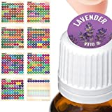 Illustrated Young Living Essential Oil Labels - All 2018 Young Living Single Oils Blends + Blanks - 576 Cap Stickers For ml R