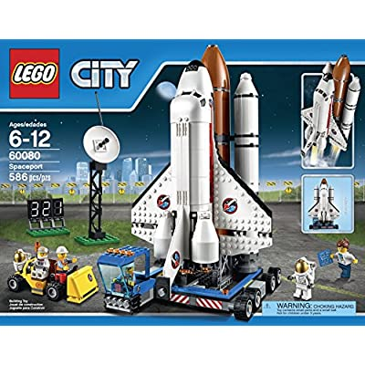 LEGO City Space Port 60080 Spaceport Building Kit: Toys & Games