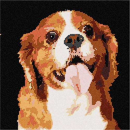 Cavalier King Charles Spaniel 2 Needlepoint Canvas (Spaniel Needlepoint)