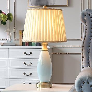 Lampe Table Dhg EuropéenBureau Style De En Céramique 8nX0OPwk