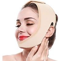 ZJchao Máscara V Line, Banda de Estiramiento Facial Banda de Adelgazamiento Facial Correas para Perder Peso Cinturones para el Cuidado de la Piel Levantamiento de la Barbilla Reafirmante Envoltura