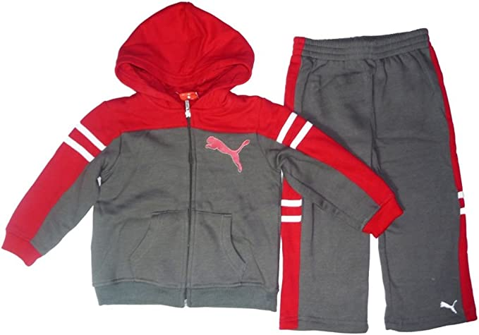 Puma – Pantalón de deporte Outfit Chándal para niño bebé + ...