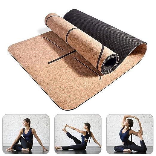 Vuffuw Premium Esterilla para Yoga con Sistema De Alineación ...