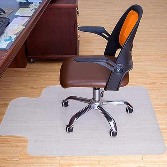 Relaxdays vloerbeschermingsmat bureaustoel, 90 x 120 cm, PVC