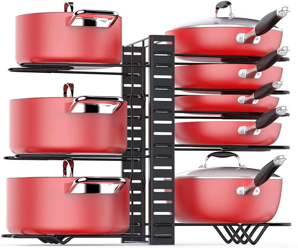 Organize Pots And Pans In Drawer