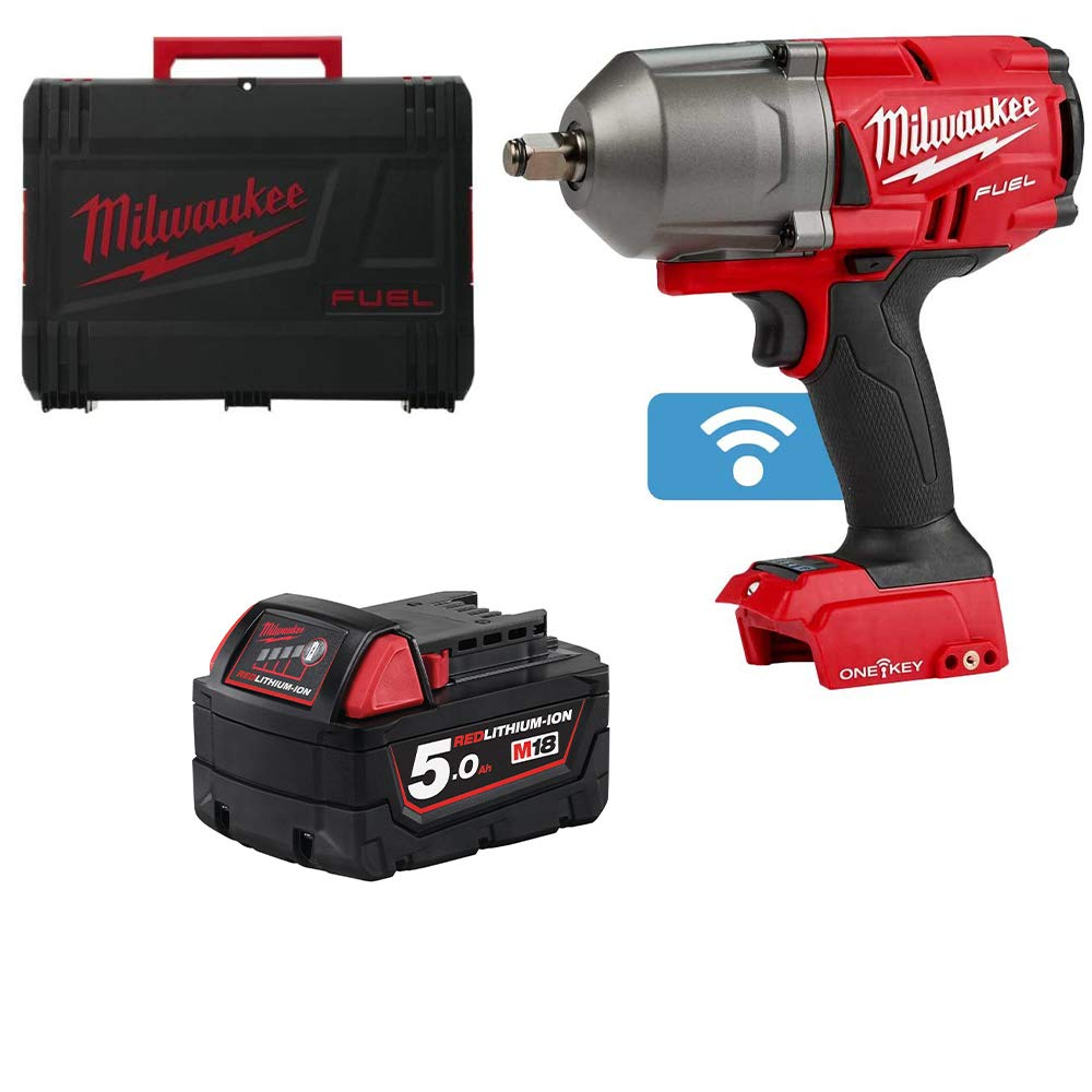 Milwaukee M18ONEFHIWP12-0 18v M18 1//2 Fuel ONE-Key Impact Wrench Pin Detent 5Ah