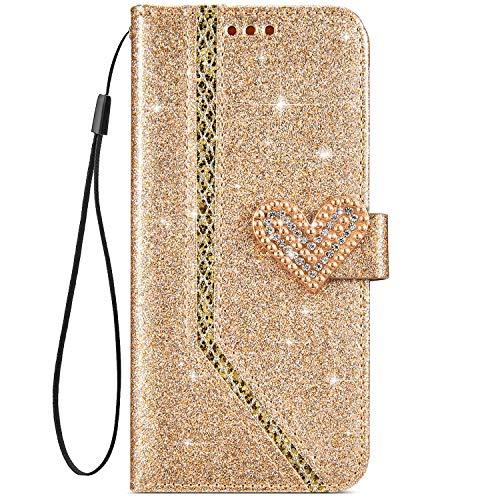IKASEFU Shiny Rhinestone Diamond Sparkly Bling Glitter Luxur