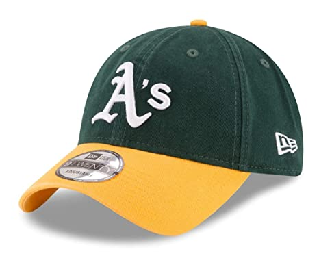 11921d41 Amazon.com : New Era 920 MLB CORE Classic Replica Oakland Athletics ...