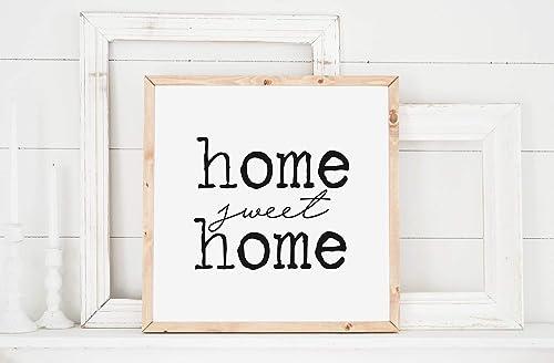 Amazon Com Mini Rustic Sign Home Sweet Home Sign