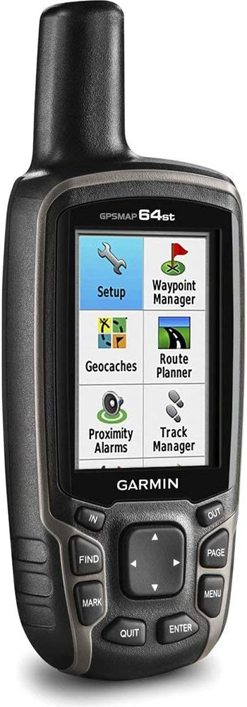 1-Year Extended Warranty Bundle 100K Maps Garmin GPSMAP 64st Worldwide Handheld GPS with 1 Yr Birdseye Subscription and Preloaded TOPO U.S Renewed