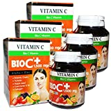BIO C Vitamin Alpha + Zinc 1,500 mg. Vitamin C Bio 30 tablets (box 3).
