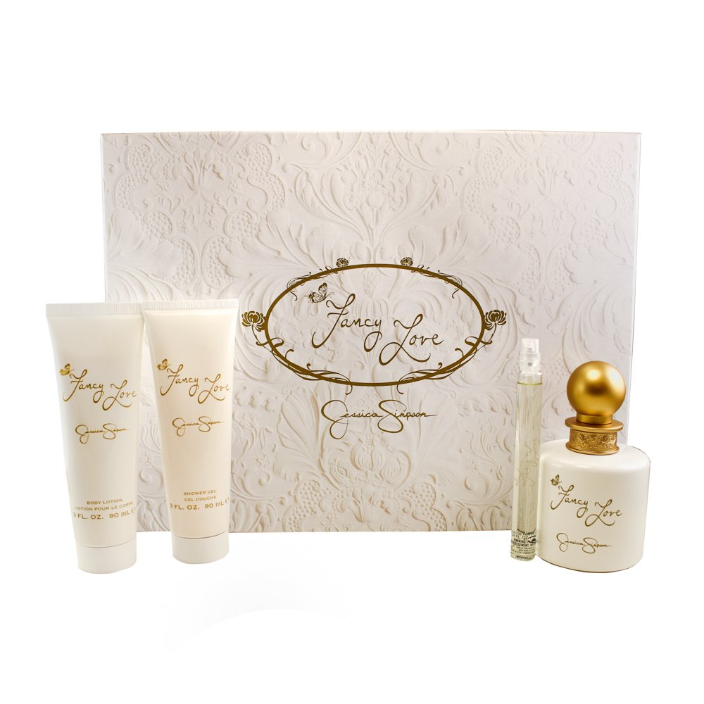 Jessica Simpson Fancy Love 4 Piece Gift Set For Women by Jessica Simpson