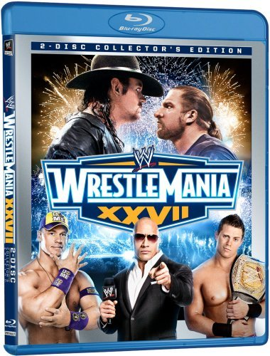 WWE: WrestleMania XXVII (Two-Disc Collector's Edition) [Blu-ray] (Induction Triple)