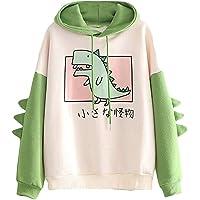 CRB Fashion Womens Hoodie Shirt Dinosaur Bunny Panda Ears Plush Cute Cosplay Coat Girls Sweatshirt Top