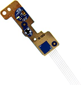 Deal4GO ON Off Power Button Board w/Cable Replacement for Dell Inspiron 17 5765 5767 5768 NBX0001Z400 LS-D806P 8CWD1 08CWD1