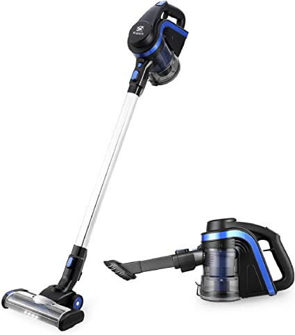 Kranich Aspiradora portatil para casa Mano y Vertical aspiradoras Manual sin Cable Limpiador Potente 250W: Amazon.es: Hogar