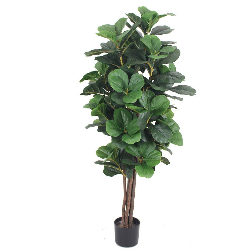Chw Artificial 5 Feet Fiddle Leaf Fig Tree by Chw Trading Inc