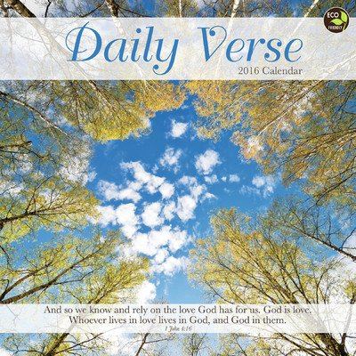 Daily Verse Wall Calendar by TF Publishing 2016