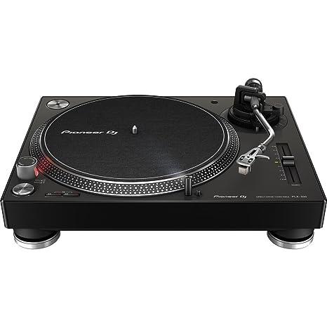PIONEER DJ PLX-500 de alto par, la placa giratoria de accionamiento directo - Negro
