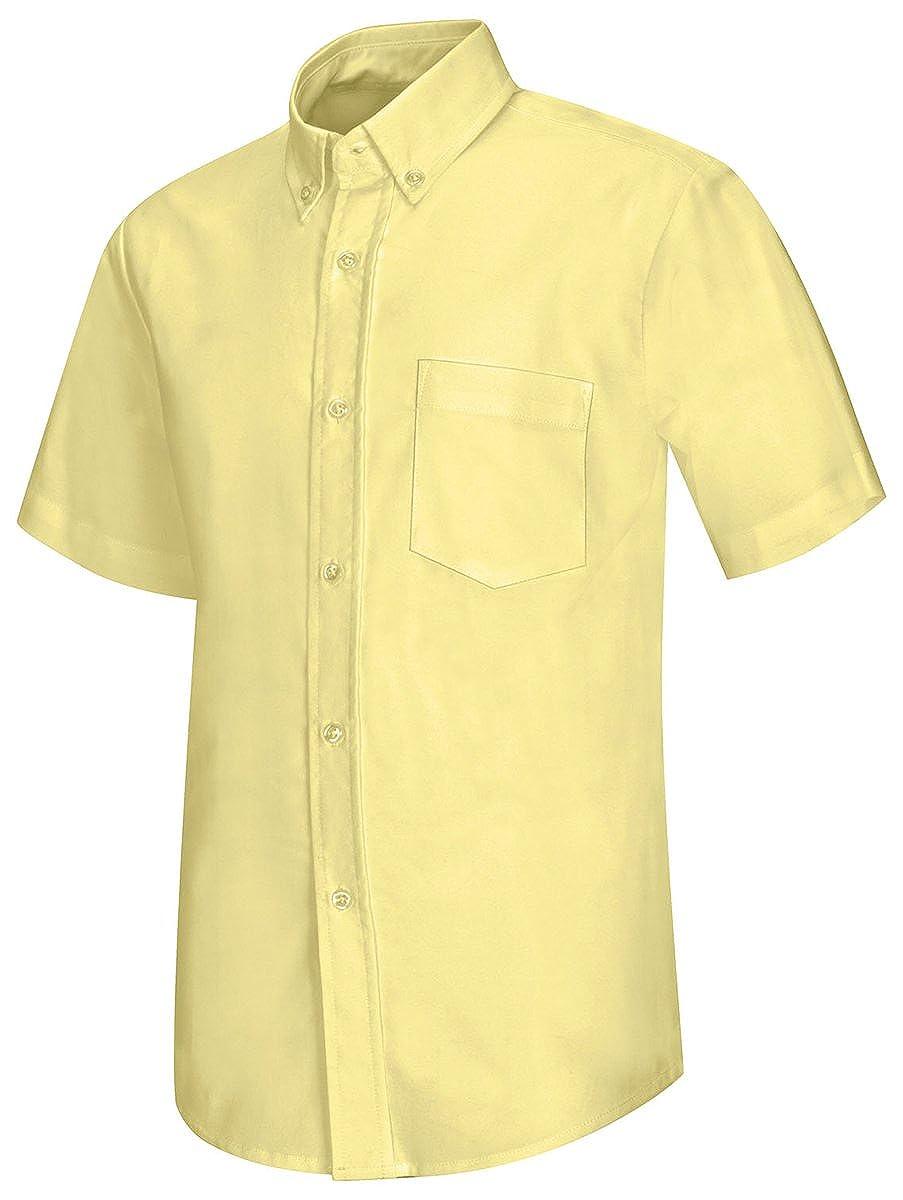 Amazon Classroom Boys Short Sleeve Oxford Shirt Clothing