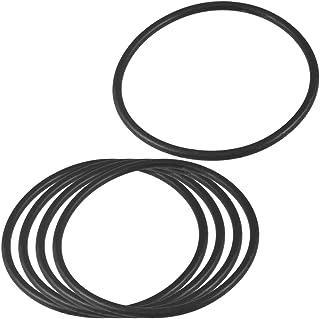 sourcingmap® 5 Pz gomma nitrile O ring tenuta olio nero guarnizione 85mm x 4mm