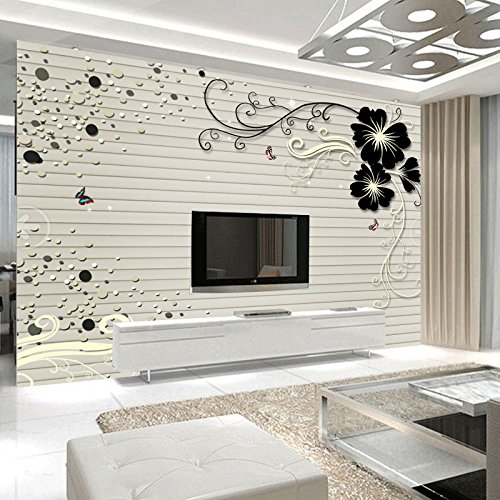 Buggy Bedroom antibacterial fire retardant nonwoven mothproof noise absorption antistatic antifouling fluorescent moisture self-adhesive wallpaper , picture color by YPF Wall sticker
