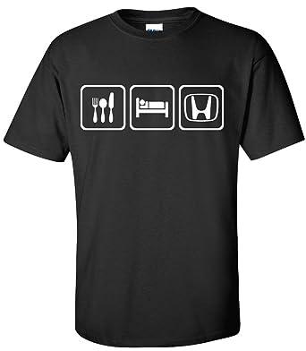 Amazon Com Eat Sleep Honda Shirt Honda Logo Medium Clothing