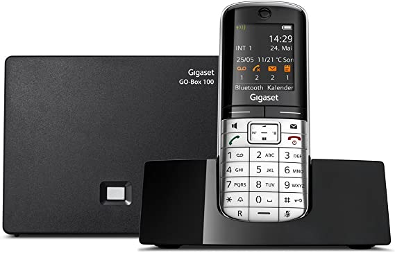 Gigaset SL400A GO - Teléfono Fijo analógico (DECT, Pantalla de 1.8