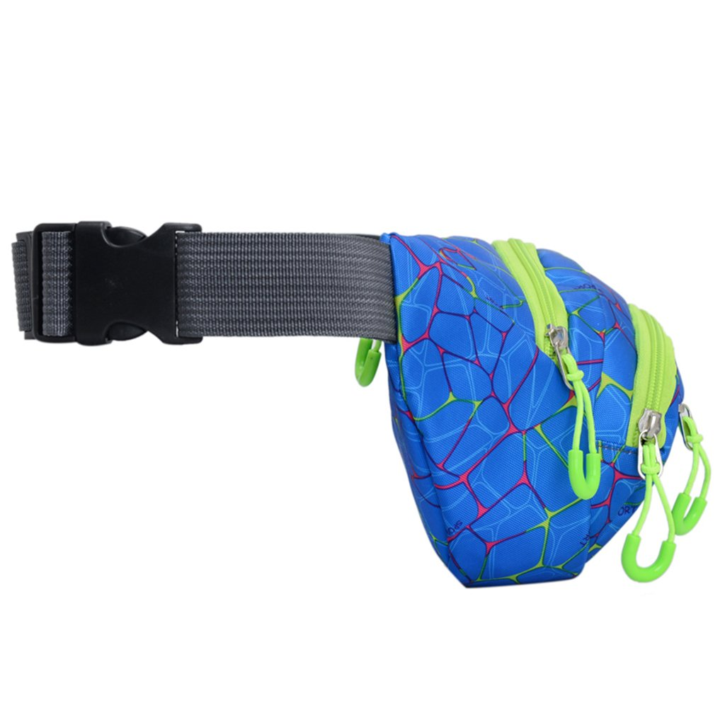 GMSP Fashion Printed Sports Belt Bag Fanny Pack Women Men Pouch Hiking Belt Bag 5