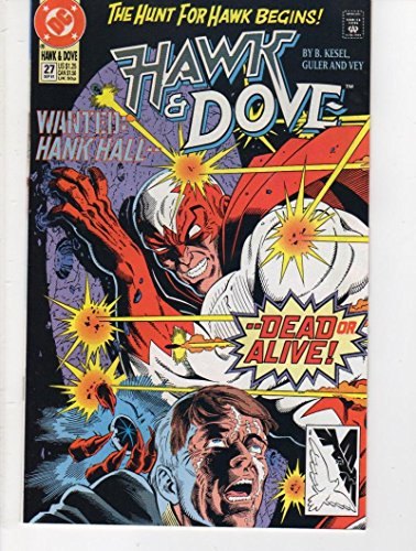 HAWK DOVE #27, VF/NM, Kesel, 1989 1991, DC Comics, Hank Hall, more in store