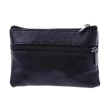 Cuigu Porte monnaie Noir Pour poches pantalon ou veste Homme