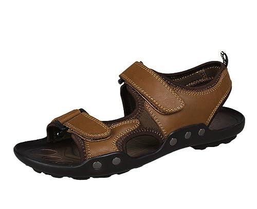 Insun Chaussures À Lacets En Cuir Pour Les Hommes, Brun, Taille 41 1/3