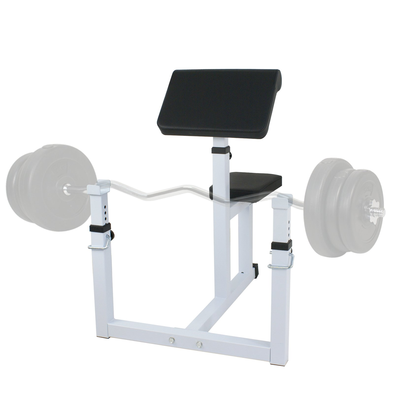 F2C Arm Curl Bench Machine seated Commercial Preacher Dumbbell Biceps Home Gym (Machine Biceps Curls)