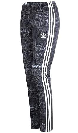 adidas M Moon Sgirl TP – Damen Hose, Grau/Weiß
