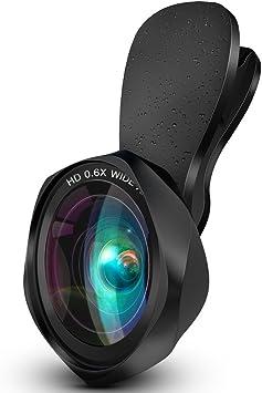 iPhone objetivo – Luxsure teléfono lente para iphonex/8/8 Plus/7/7 Plus/6/6 Plus/5/5S/4/Android Teléfono/Samsung y más Smartphone: Amazon.es: Electrónica