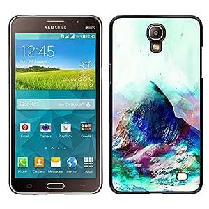 EJOY---Cubierta de la caja de protección la piel dura para el / Samsung Galaxy Mega 2 / --Geometría psicodélico Montaña