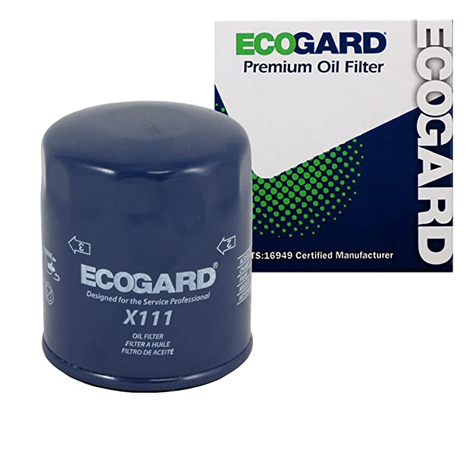 Amazon Ecogard X111 Spinon Engine Oil Filter For Conventional Rhamazon: 2003 Buick Park Avenue Oil Filter Location At Gmaili.net