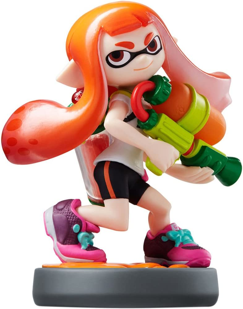Nintendo amiibo Splatoon Series Figure (Inkling Girl) by Nintendo ...