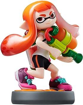 Nintendo amiibo Splatoon Series Figure (Inkling Girl) by Nintendo: Amazon.es: Juguetes y juegos