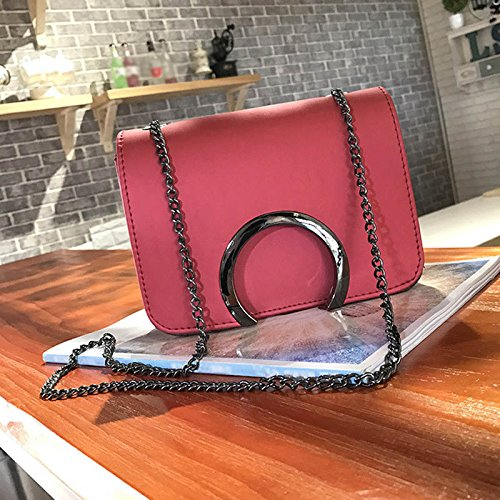 Shoulder Bags C Fashion Causal Chain Ladies Letter Travel red Bag Women Adealink Crossbody Handbag Clutch Korean Leather Messenger qZgqAw