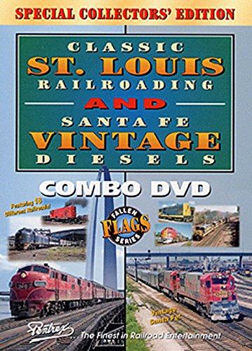 Diesel Santa - Classic St. Louis Railroading and Santa Fe Vintage Diesels [DVD] [2003]