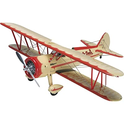 Revell Germany 1/48 Stearman Aerobatic Biplane Model Kit: Toys & Games