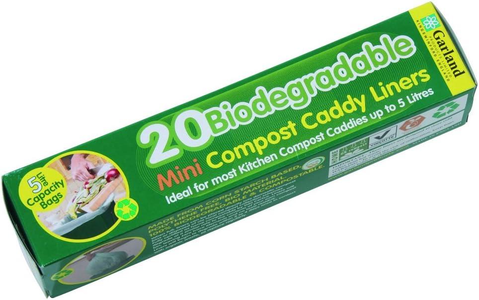 Tierra Garden GP122 Biodegradable Compost Liner Bags, Box of 20